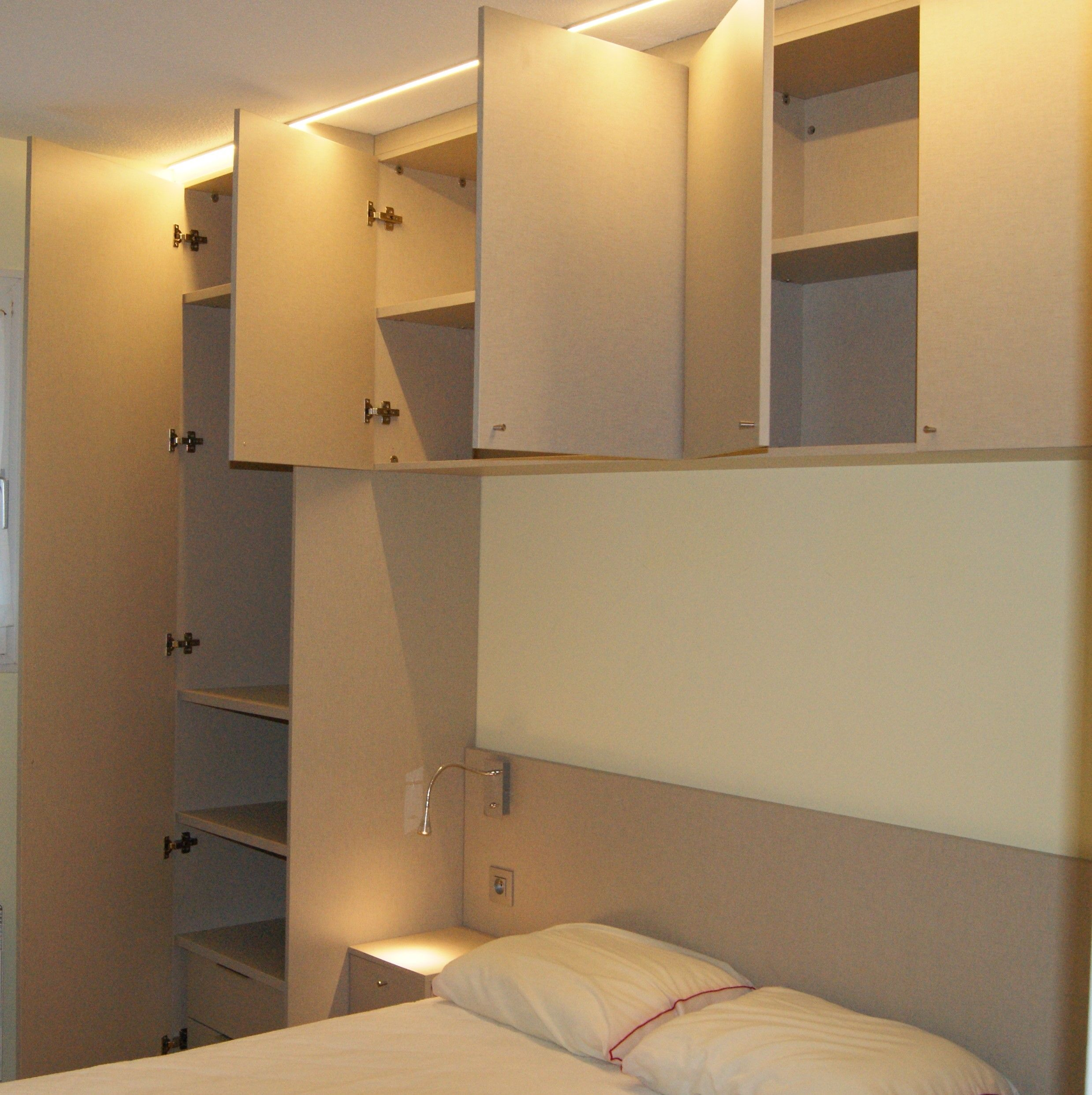 Armoire Gain De Place gain de place petite chambre (suite) | amenagement petit