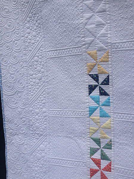 Modern Pinwheels | the stitch | Machine quilting designs ...