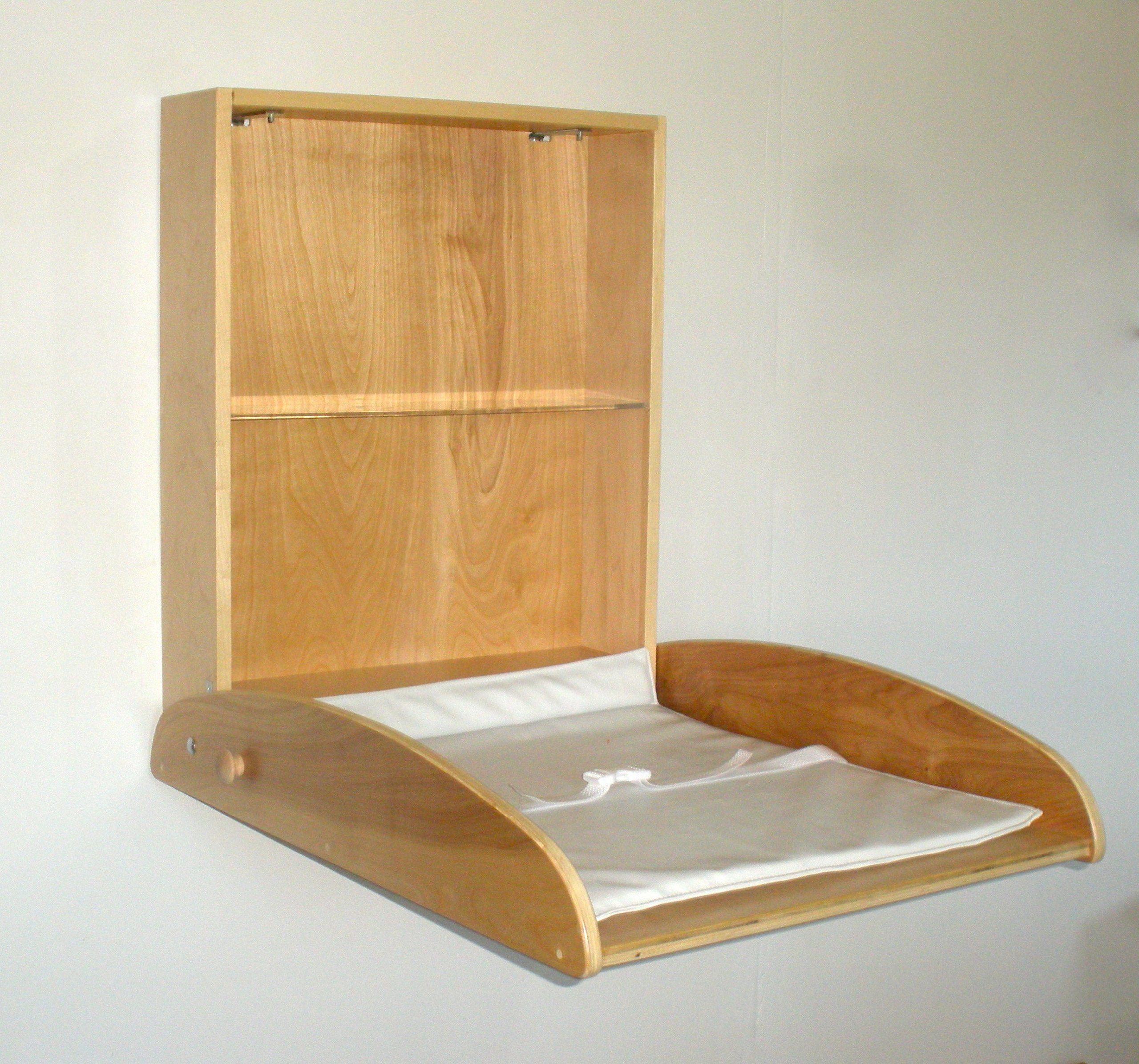 Wall Mounted Baby Changing Table Dizajn Interera Interer Dizajn
