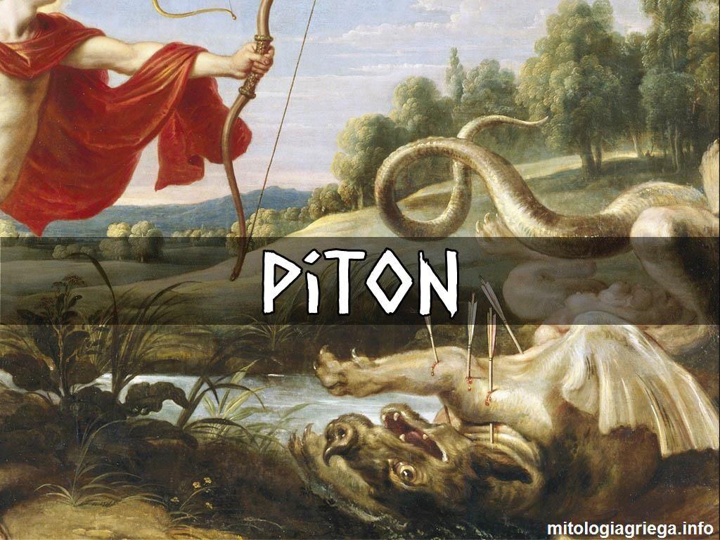 3e8d8712316e1 Pitón era la serpiente dragón en la mitología griega