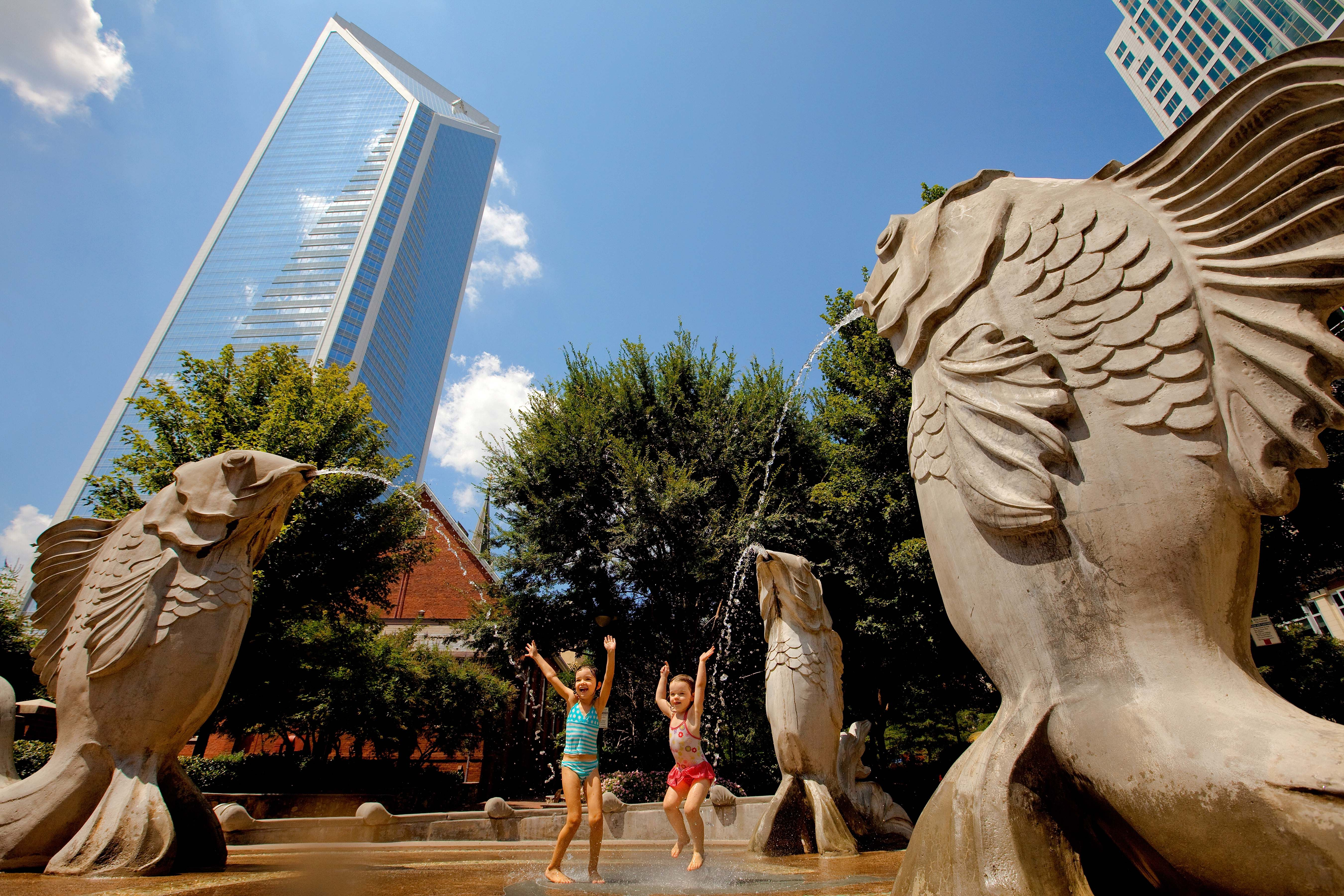 Take a self guided walking tour of Uptown Charlotte to discover