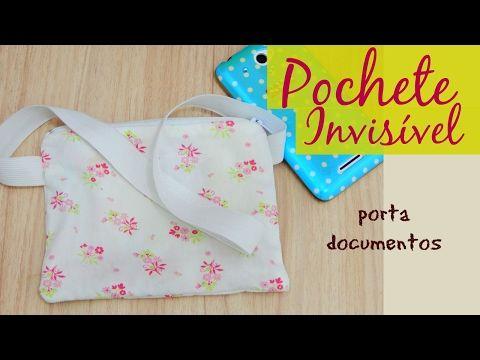 Pochete invisível - para usar dentro da calça - YouTube