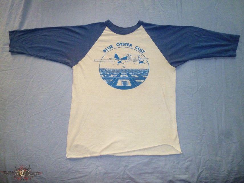 vintage blue oyster cult shirt rock on