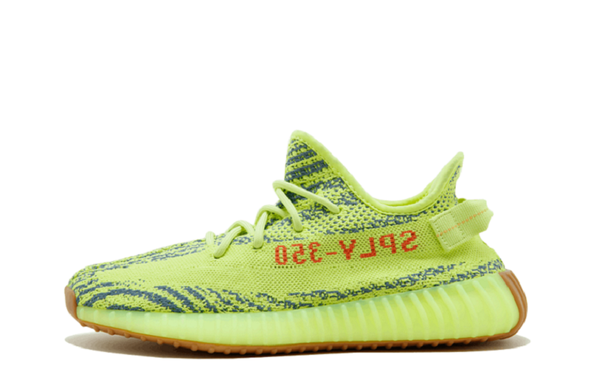 """Adidas Yeezy Boost 350 V2 """"Semi Frozen Yellow"""" (With"""