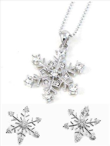 snowflake jewelry Google Search Random Pinterest Snowflake