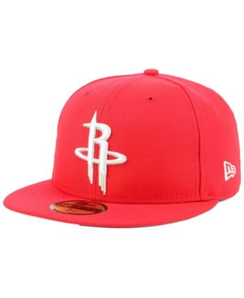 uk availability 322d5 0150c New Era Houston Rockets Basic 59FIFTY Fitted Cap 2018 - Red 7