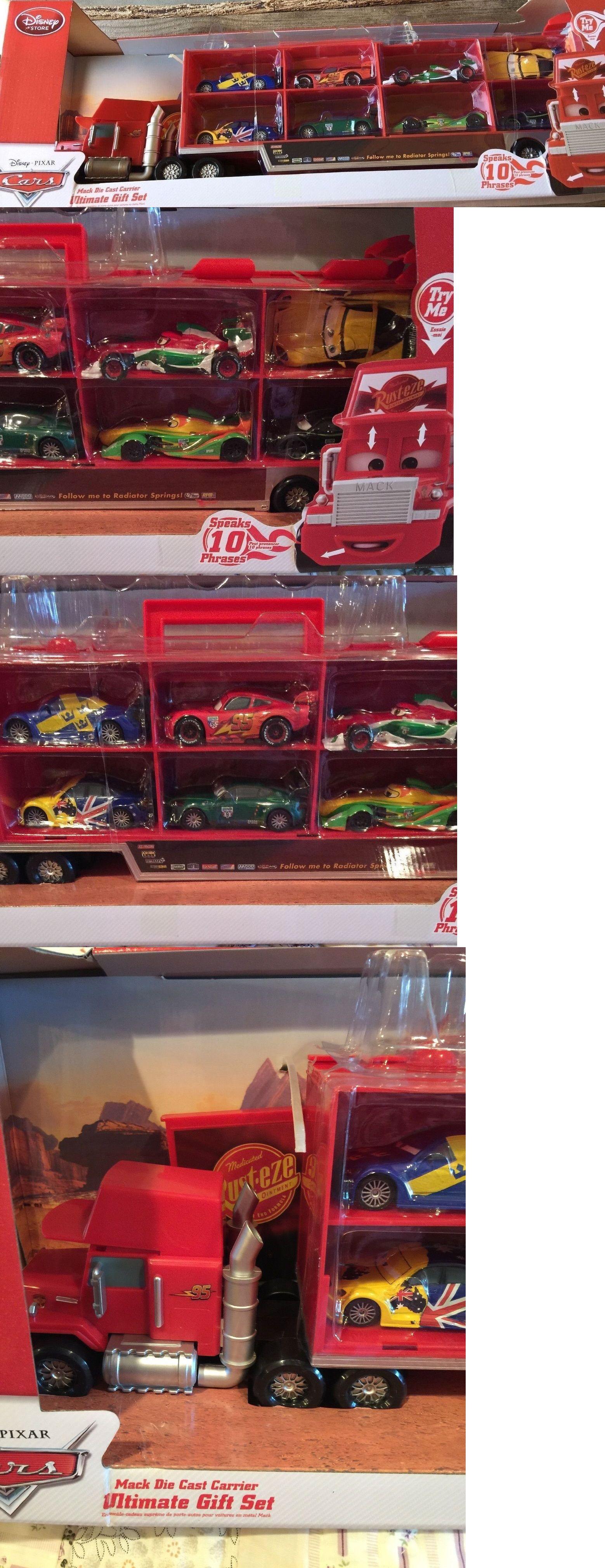 Cars 142316: Disney Cars Mack Die Cast Carrier Ultimate Gift Set ...