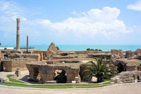 Les Thermes D Antonin A Carthage Carthage Tunisie Voyage Tunisie