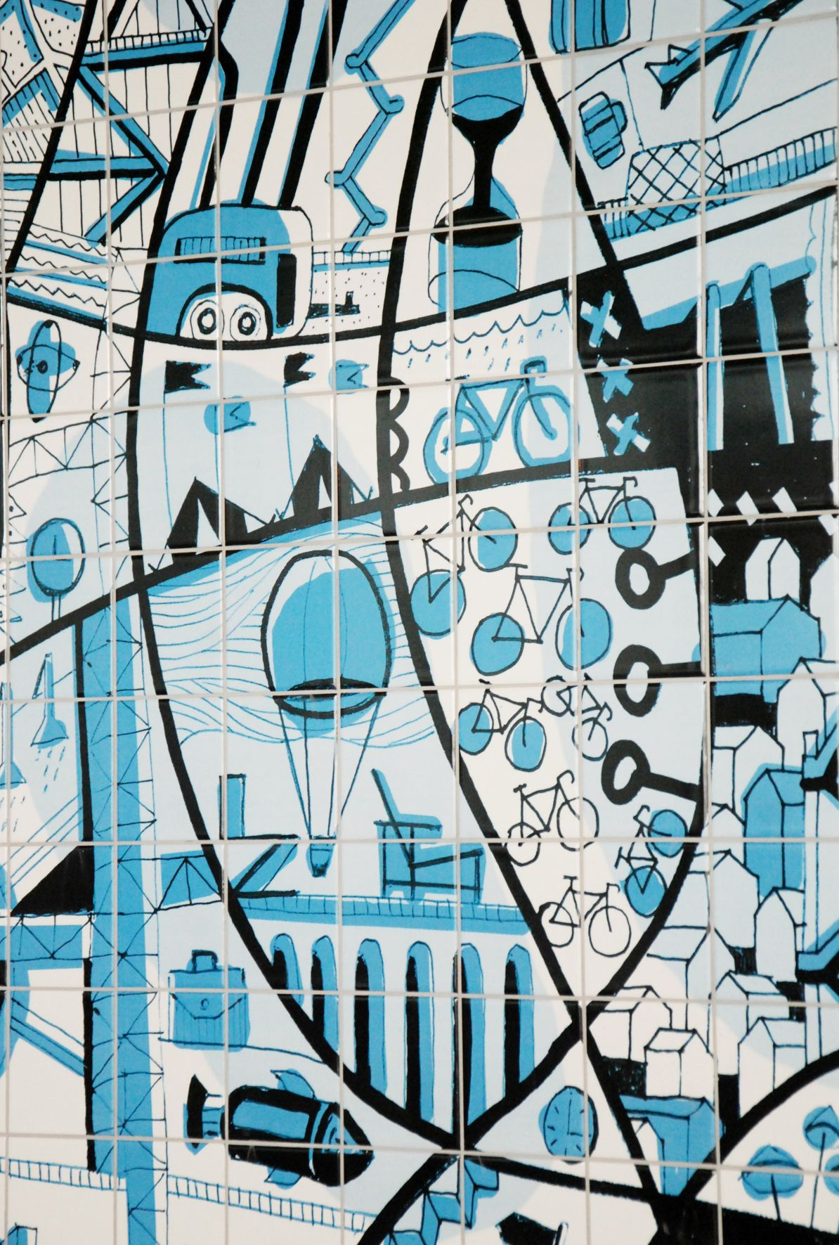 eurocol | ceramic tile installation | design | hilton hotel