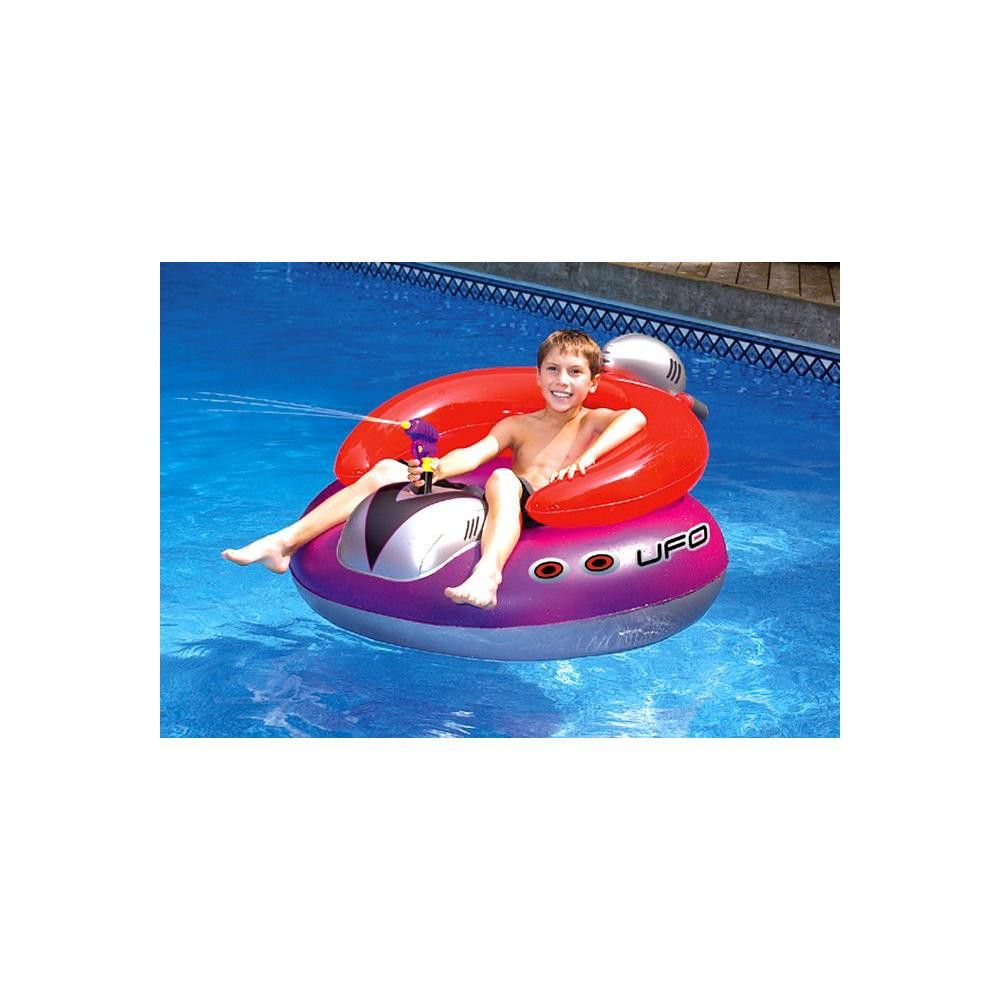 Swell Swimline 9078 Inflatable Ufo Lounge Chair Swimming Pool Ocoug Best Dining Table And Chair Ideas Images Ocougorg