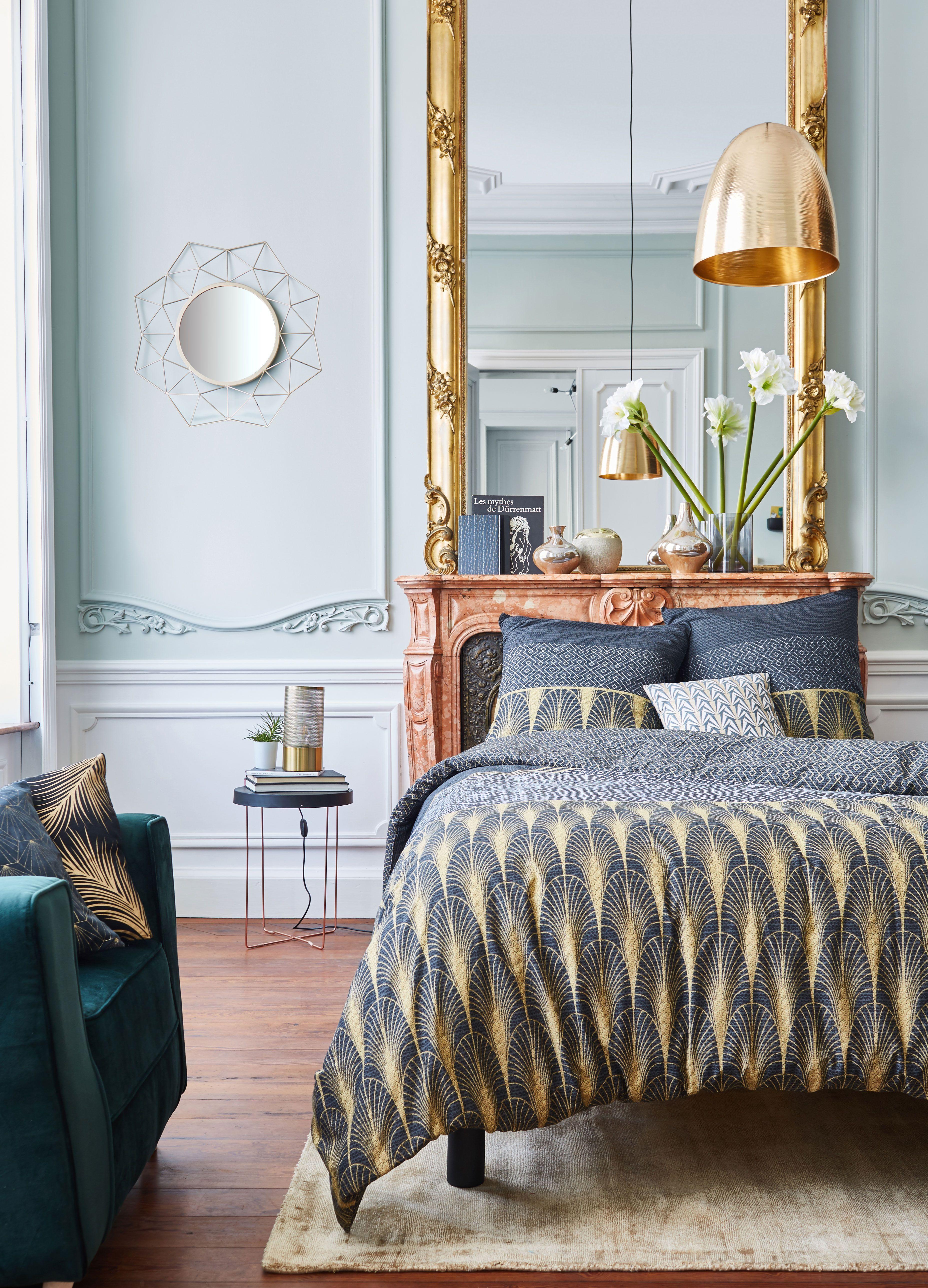 Charleston Housse De Couette Et 2 Taies D Oreiller Alinea Mobilier De Salon Meuble Deco Canape Rond