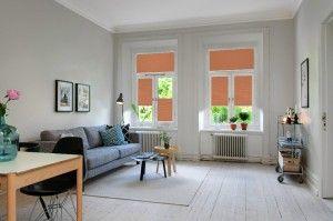 Plissee Wohnzimmer Fensterdeko Modern Dekoration Pinterest