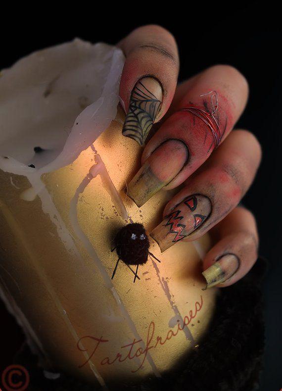 Easy Halloween Nail Art Designs To Master