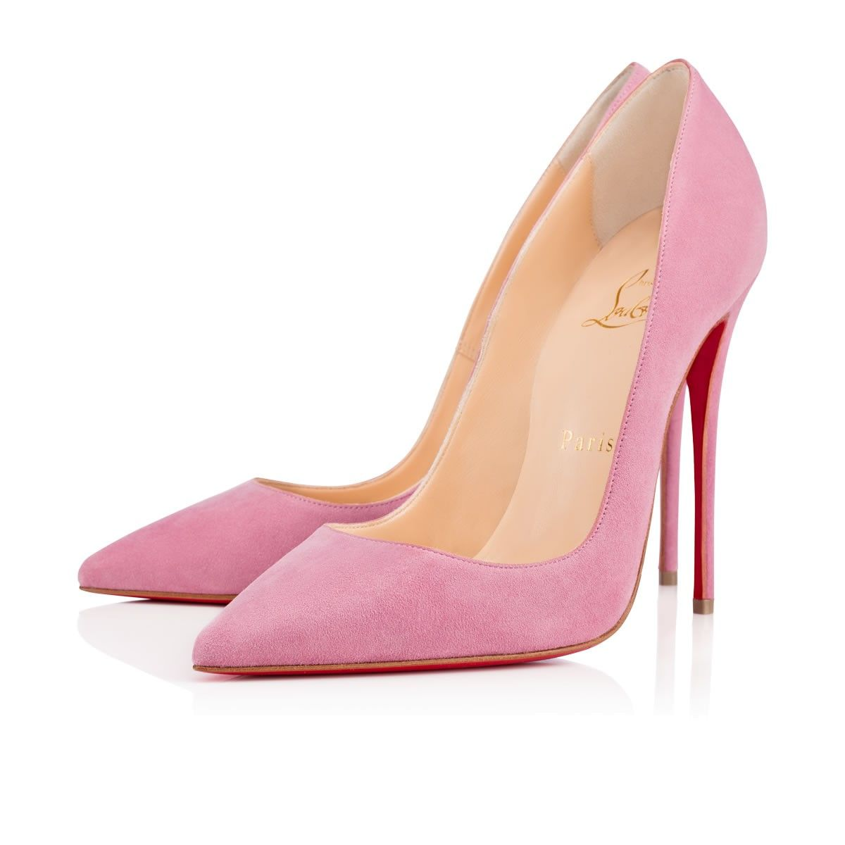 christian louboutin shoes pink