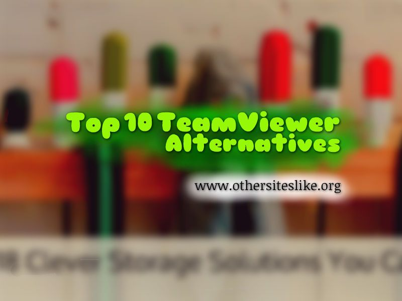 Best free remote software TeamViewer alternatives like