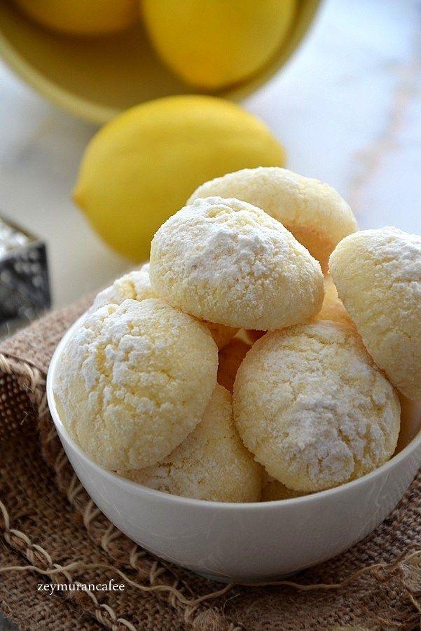Limonlu Şekerli Kurabiye Tarifi #donutcake