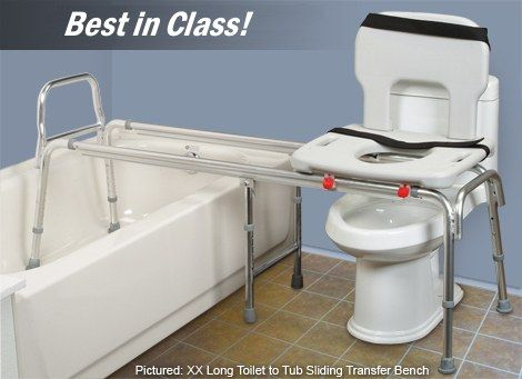 Image result for toilet to shower transfer bench | Wheelchair ...