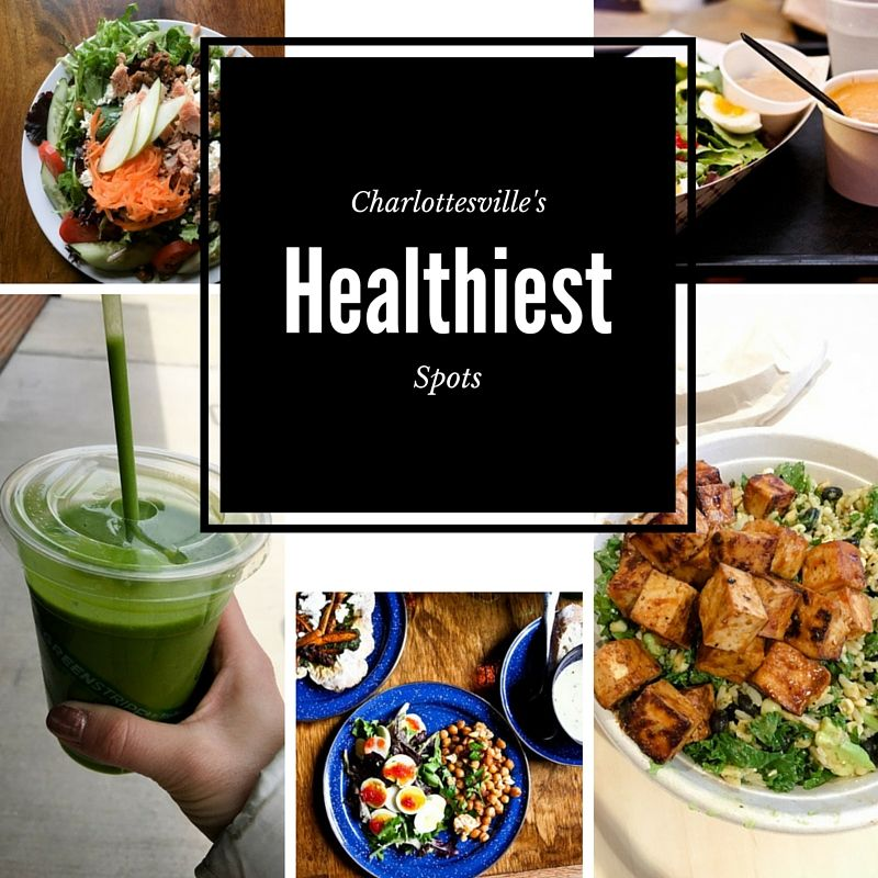 Charlottesville's Healthiest Spots