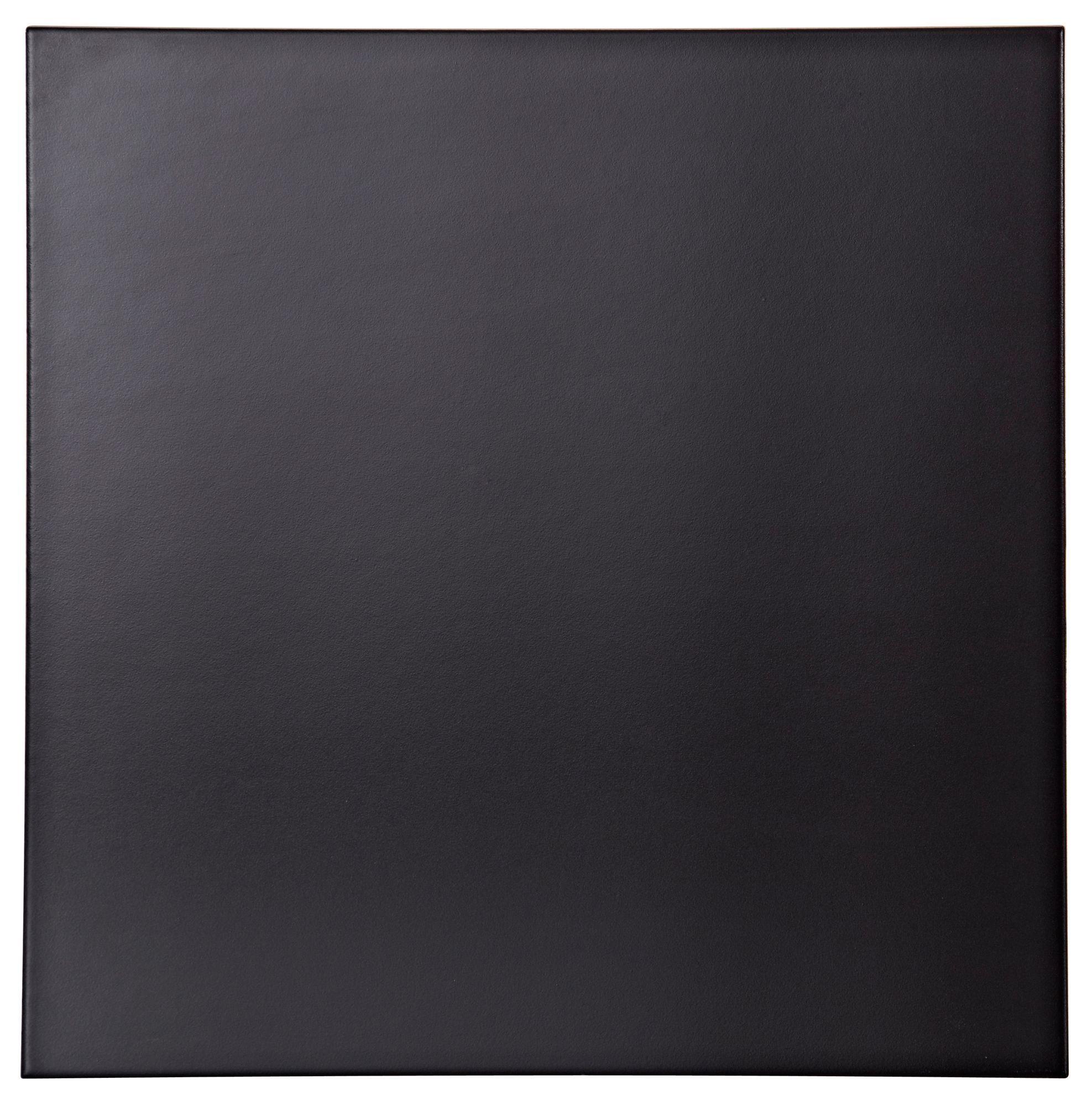 Colours umbria black porcelain floor tile pack of 9 l333mm w colours umbria black porcelain floor tile pack of 9 l333mm w dailygadgetfo Images
