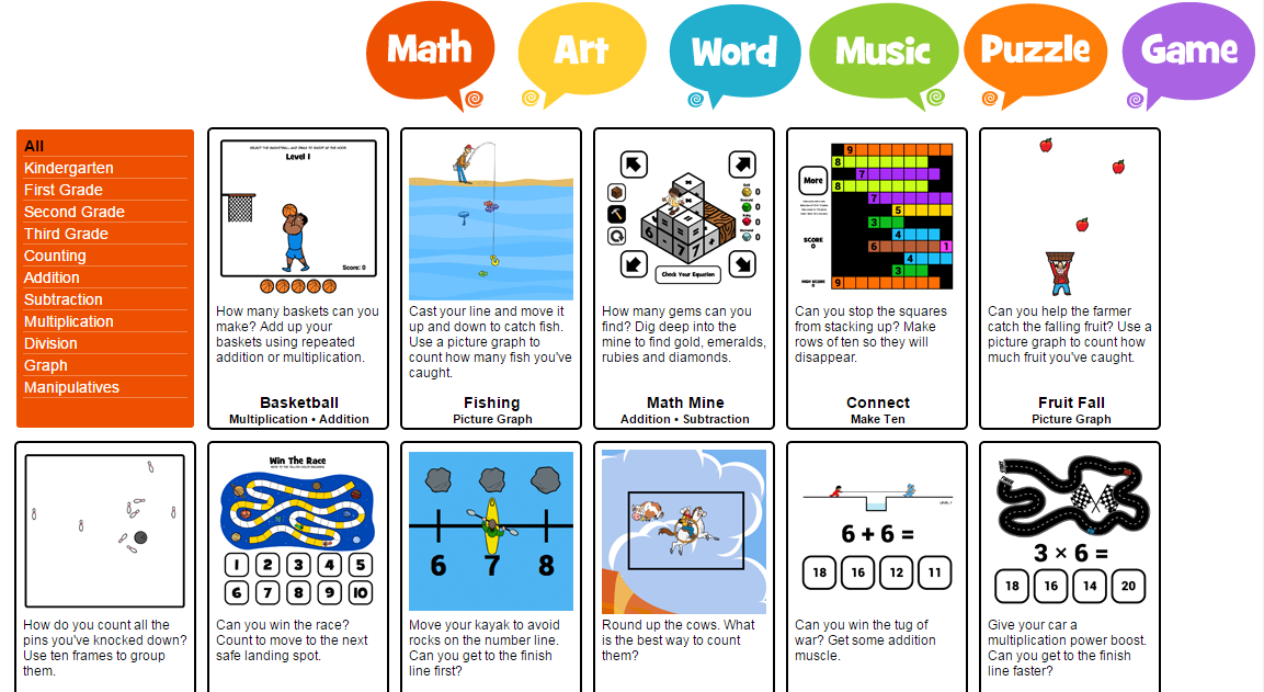 Free Online Math Games for early learners | Free Online Math Games ...