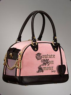 Betsey Johnson Dog Carrier Juicy Couture English