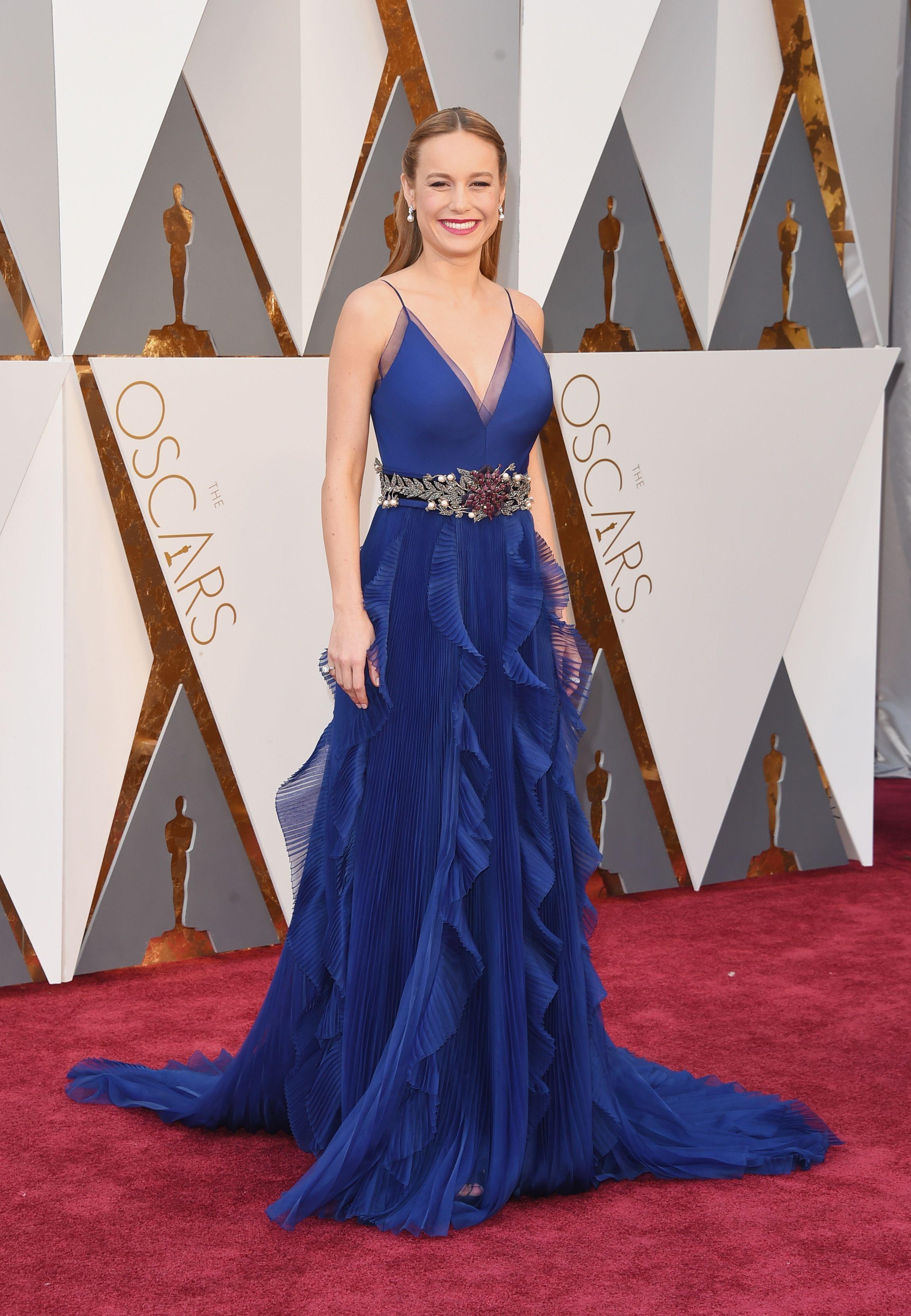 Brie Larson - Oscars Red Carpet Arrivals: Oscars Red Carpet Arrivals ...