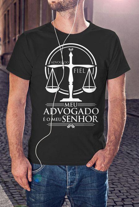 08f094a91f Camiseta Advogado Fiel
