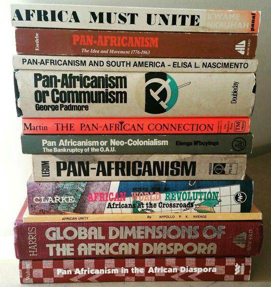 Bradthings Pan Africanism Books Black History Books