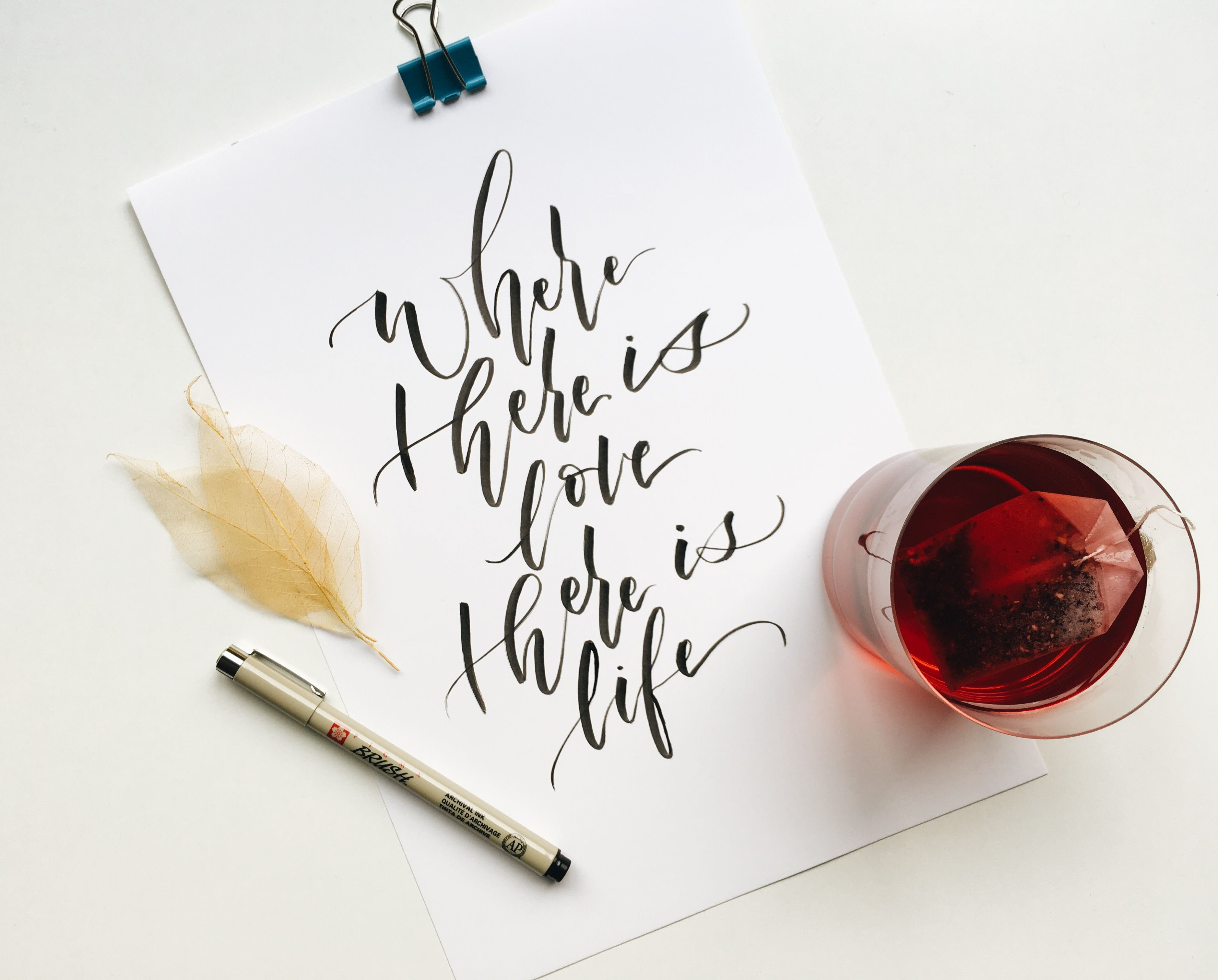 Pin by may oliveira on modern calligraphy pinterest modern