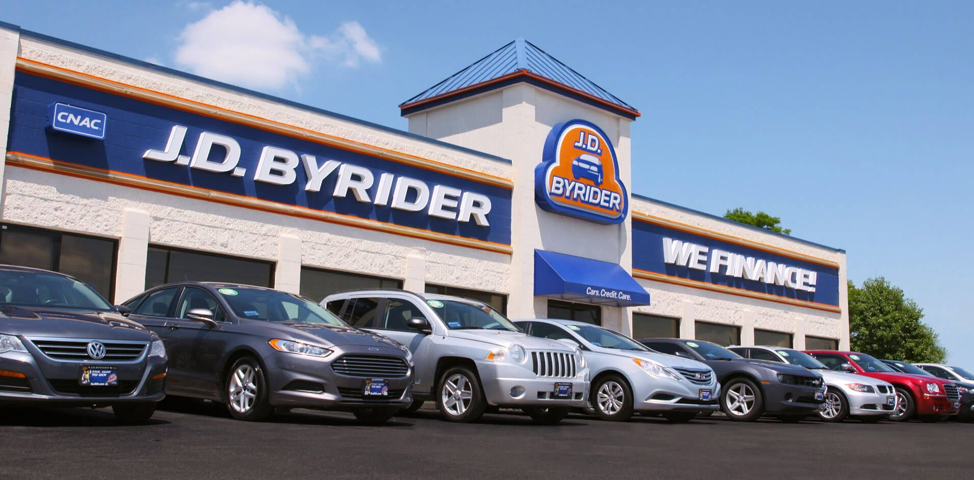 J.D. Byrider has been in the buy here pay here business