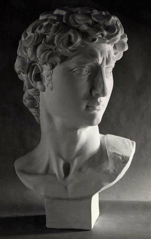 David Full Size Bust Item 99 Sculpture Bust Sculpture Sculpture Art