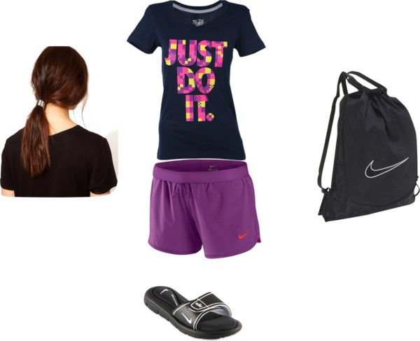 """""""nike"""" by allenis-michelle-flannagan ❤ liked on Polyvore"""