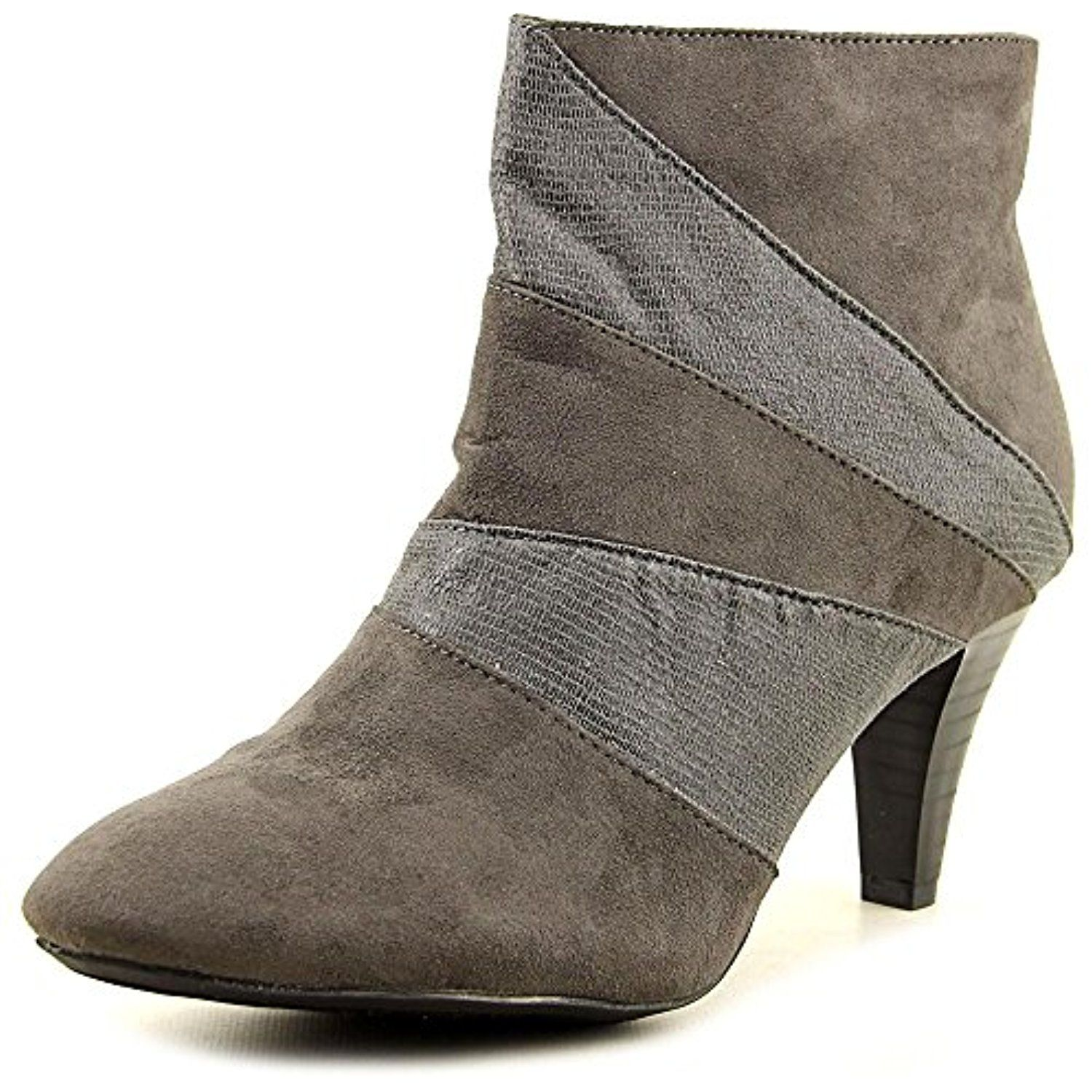 Milann Round Toe Synthetic Ankle Boot