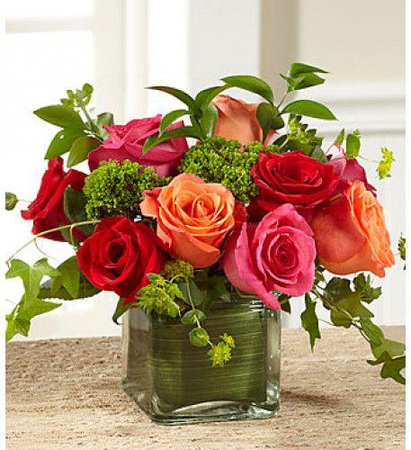 Liebevoller Blumenbouquet Blumenarrangements einfach