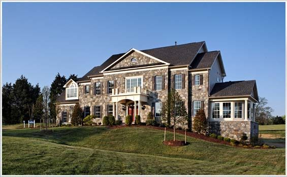 Photos Of Luxury Estate Single Family Home Facades In Maryland And Virginia By Craftmark Homes Visit Craftmarkhomes Com Models
