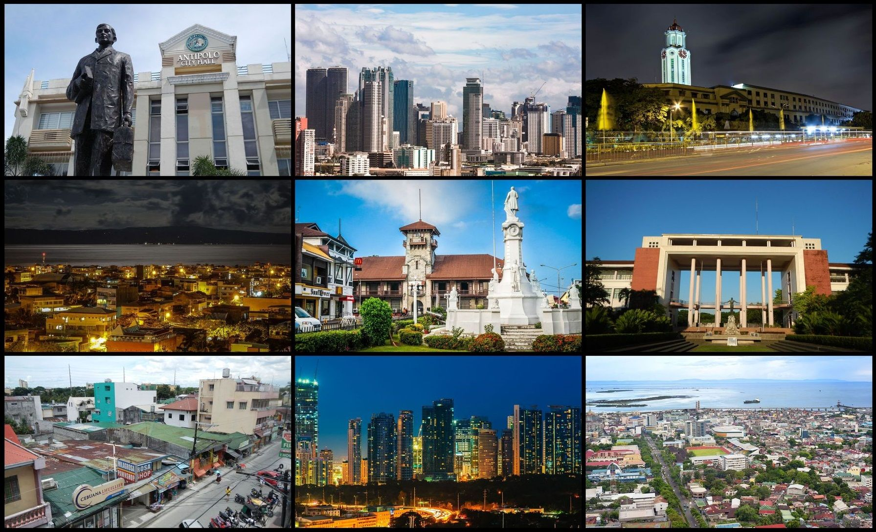 What will be the Philippines' largest cities in 2020