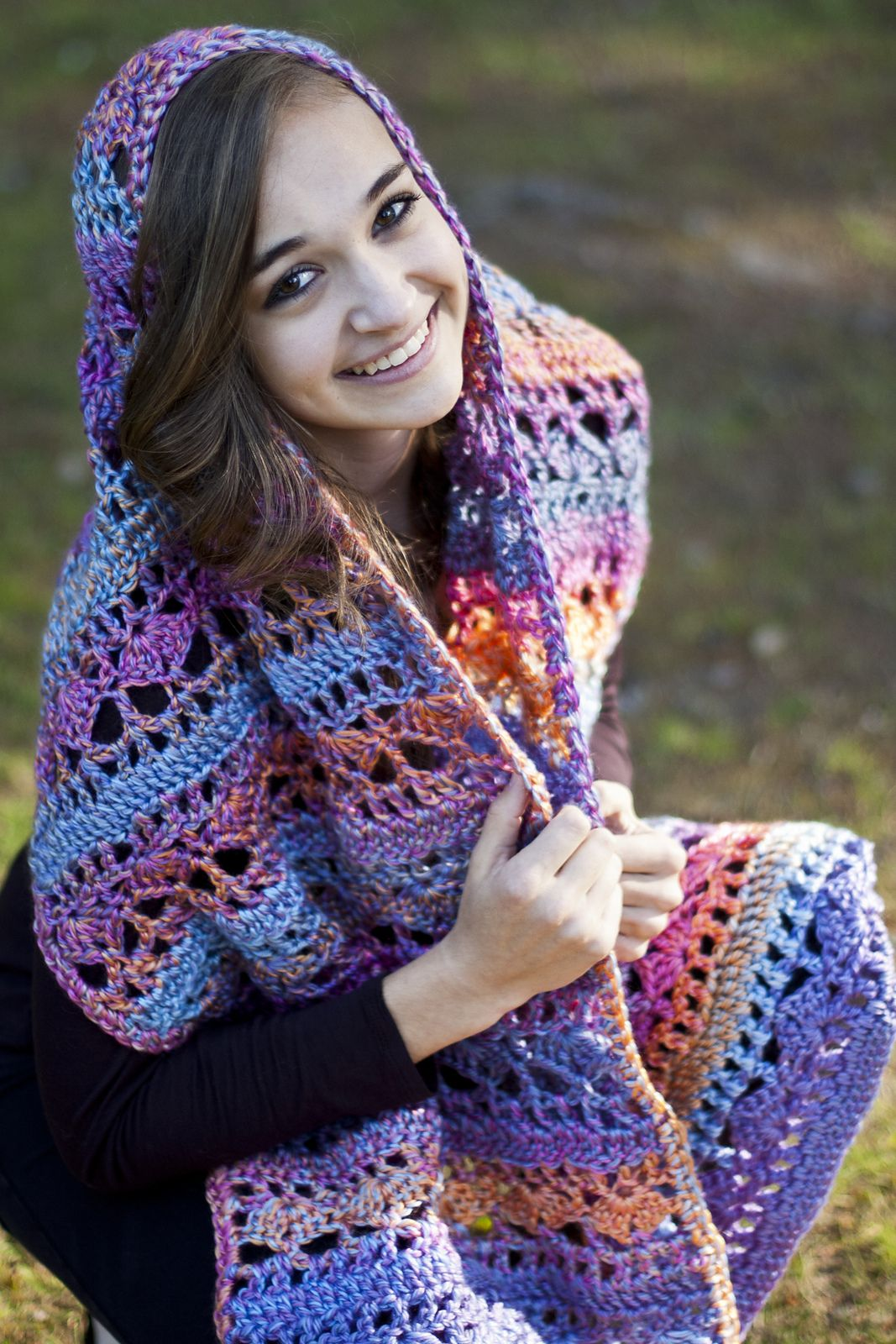 Ravelry: Colorful Hugs Prayer Shawl by Susie Bonell | Crochet items ...