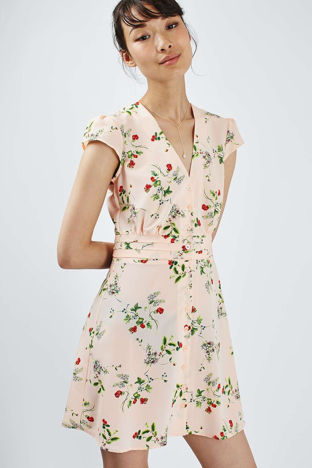 d3e3543786 Floral Tea Dress - Topshop