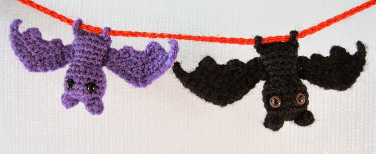 LucyRavenscar - criaturas ganchillo: deshilvanado Bat - modelo libre ...