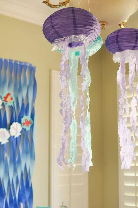 The Little Mermaid Birthday Party Decorations! See more party planning ideas at CatchMyParty.com & The Little Mermaid Birthday Party Ideas | Mermaid birthday Mermaid ...