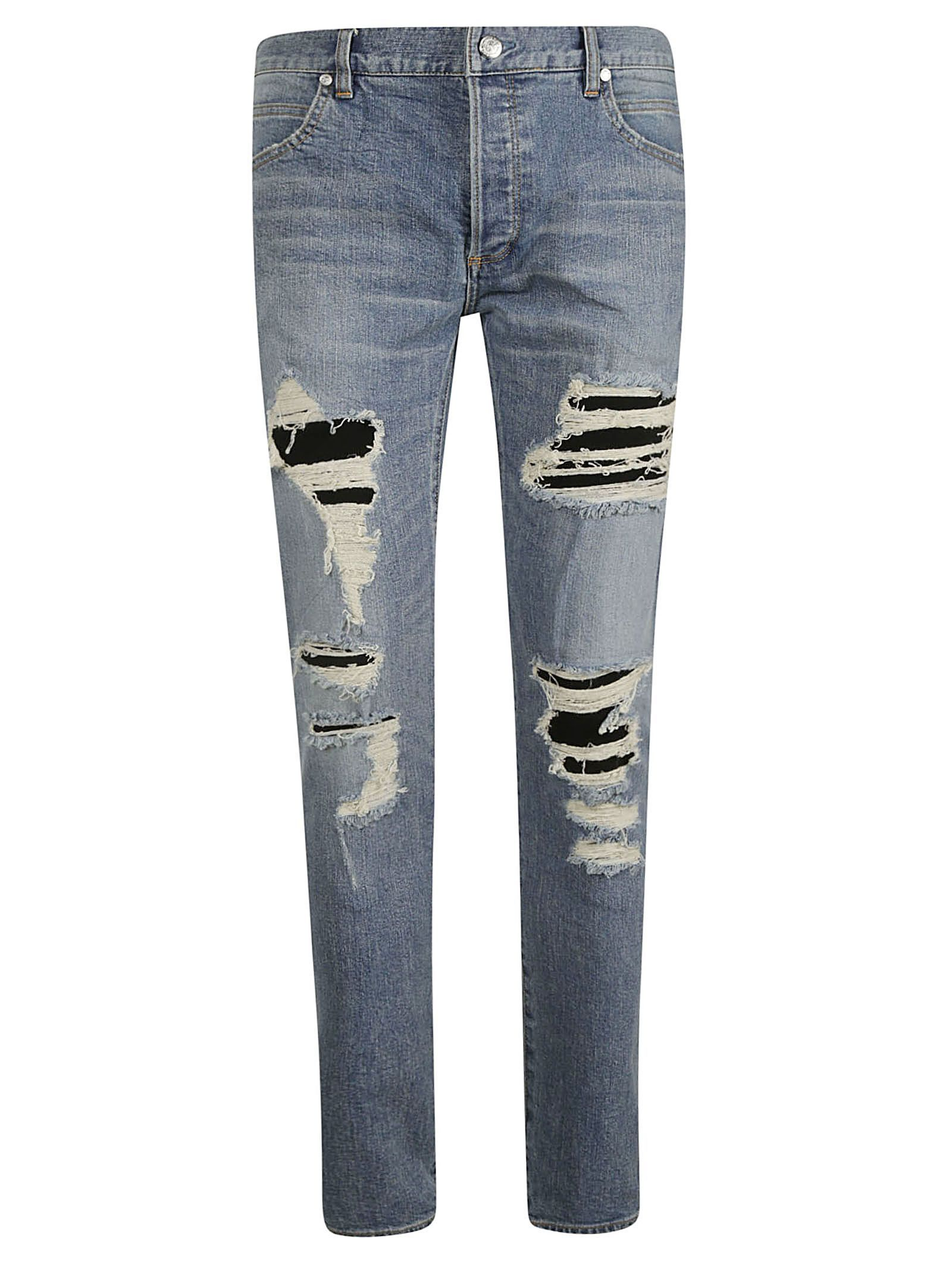 692a5195 BALMAIN DISTRESSED JEANS. #balmain #cloth | Balmain in 2019 ...