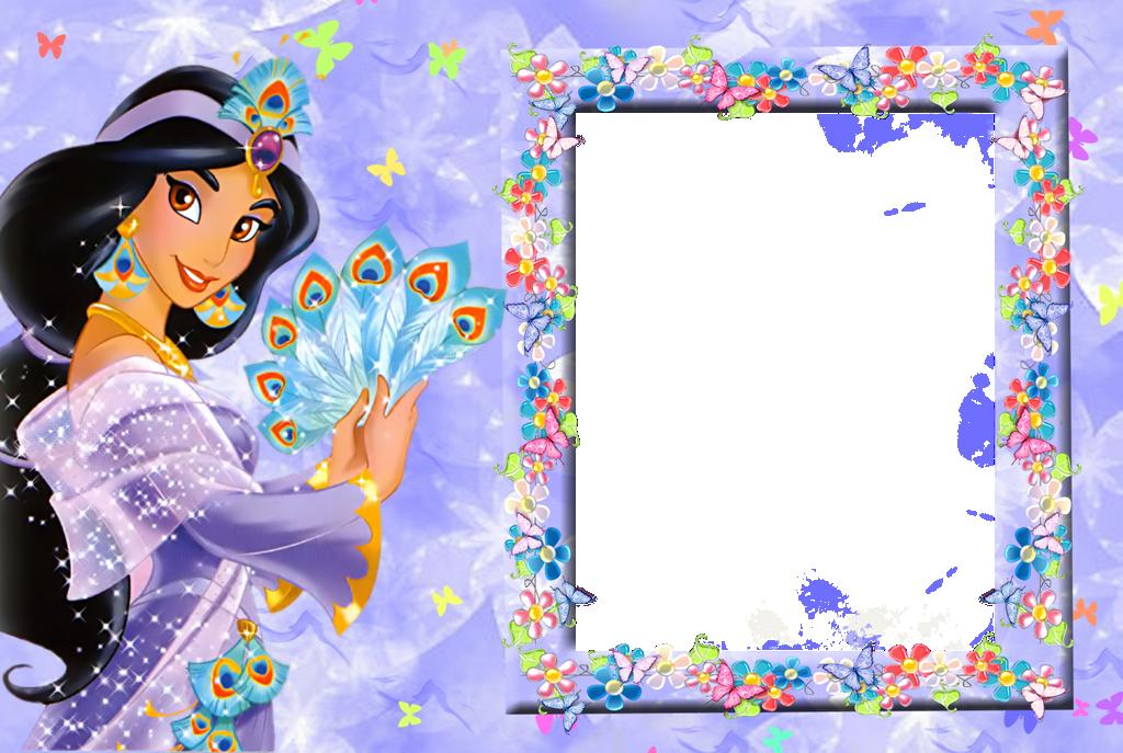Frame Princess 100 Il Magico Mondo Dei Sogni Disney Frames Disney Jasmine Frozen Theme Party
