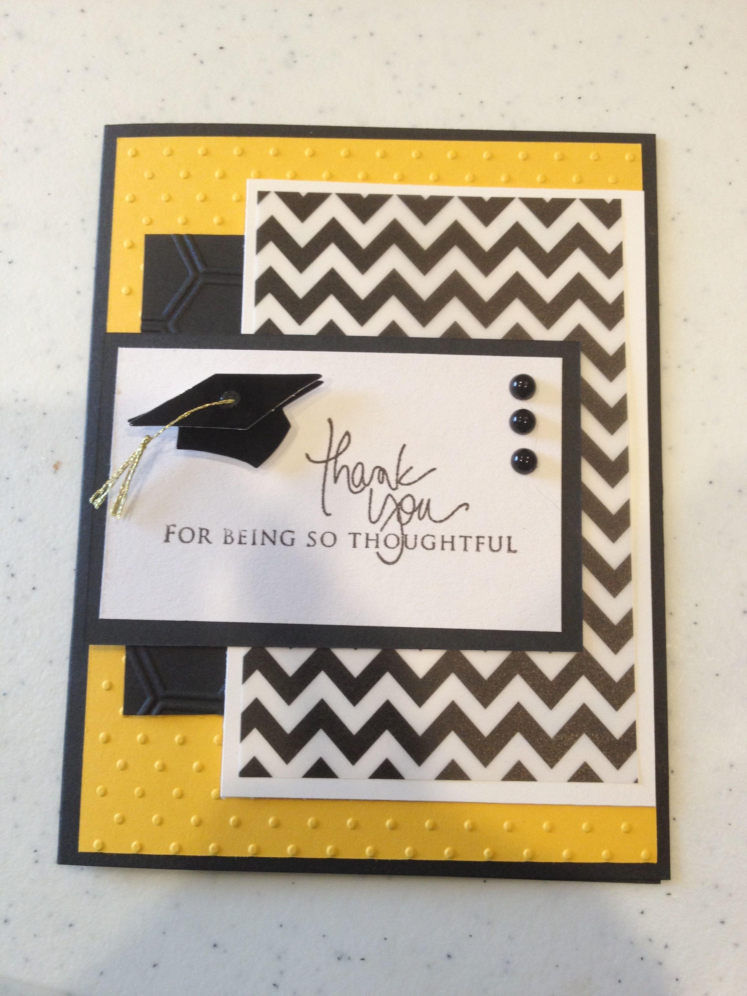 graduation thank you card cards graduation thank you Templates