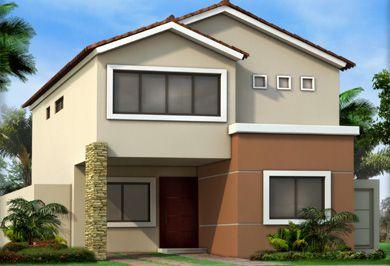 Pin de stephanie santos en casas house styles home for Casas prefabricadas pequenas