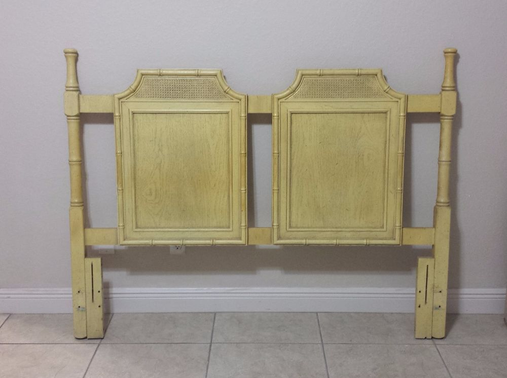 Vintage Pagoda Faux Bamboo Queen Headboard Unbranded Chippendale