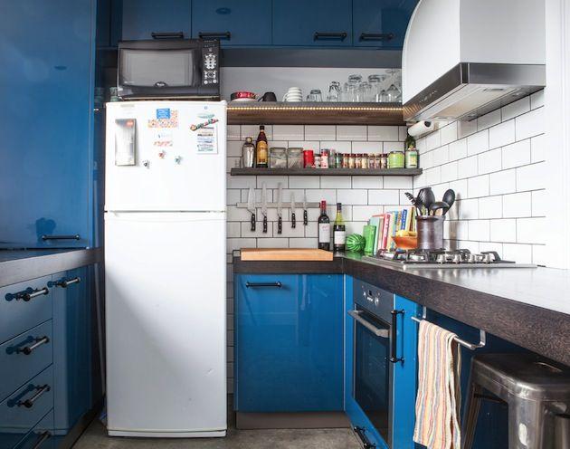 15 Tiny Kitchen with European style compact fridges Tiny Kitchens