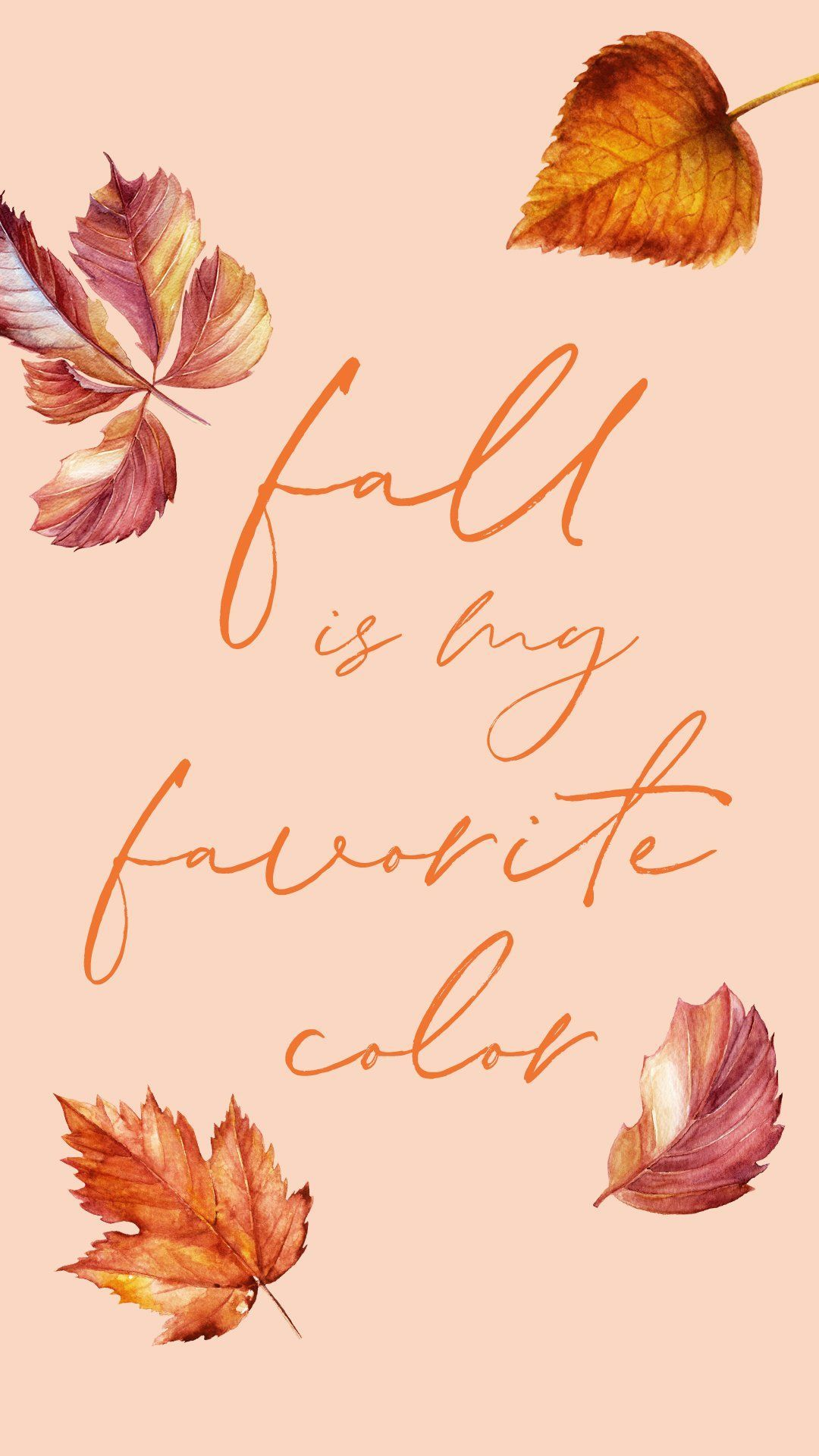 Fall Is My Favorite Color Free Wallpaper Iphonewallpaperfall Freefallwallpaper Fallbackgrounds Fall Wallpaper Iphone Wallpaper Fall Cute Fall Wallpaper