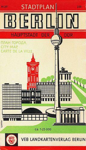 stadtplan berlin pinterest travel posters vintage travel and city. Black Bedroom Furniture Sets. Home Design Ideas