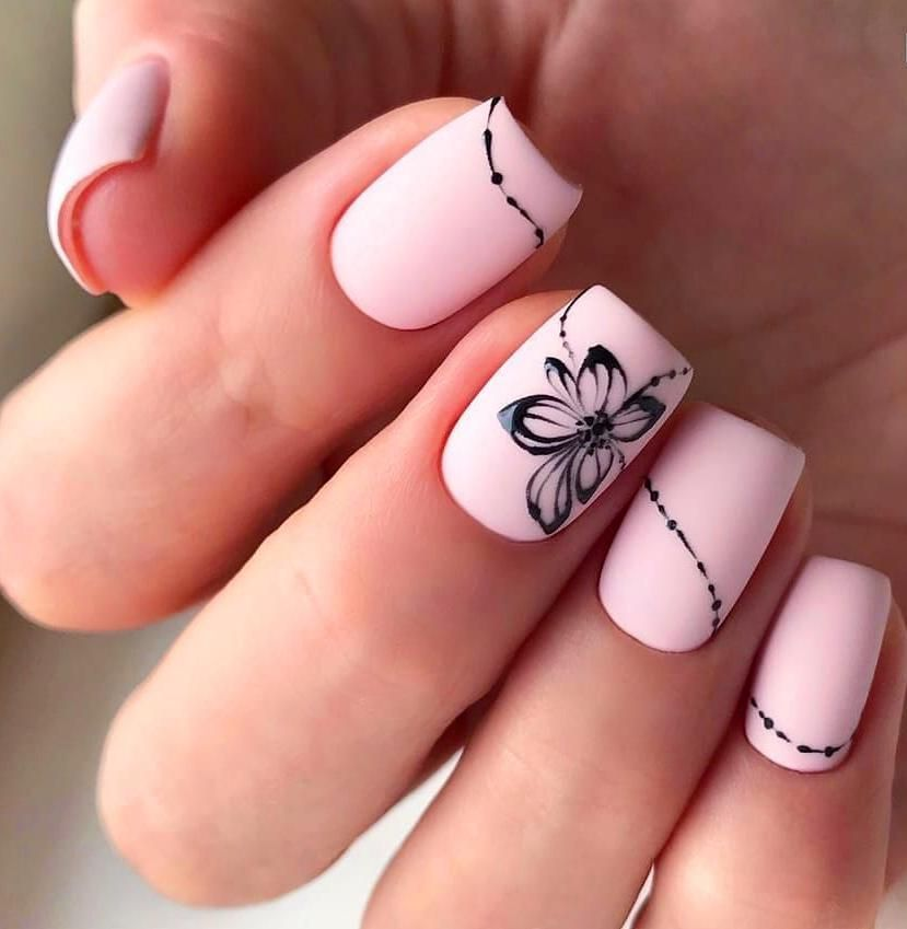 65 Cute Short Acrylic Square Nails Ideas For Summer Nails