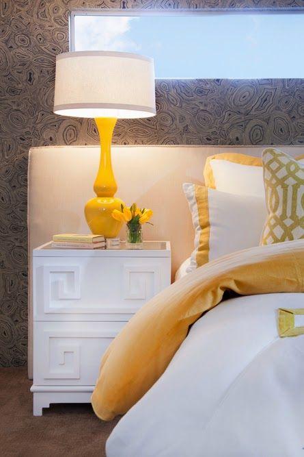Midcentury in color * Modernismo dos Anos 50 cinza e amarelo.... amo